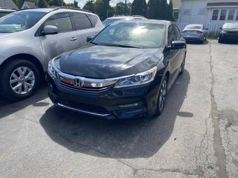 2017 Honda Accord Hybrid for sale at CLASSIC MOTOR CARS in West Allis WI