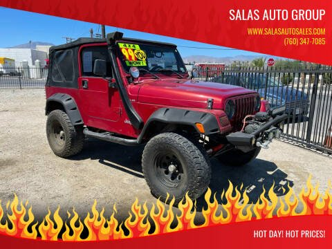 1999 Jeep Wrangler for sale at Salas Auto Group in Indio CA