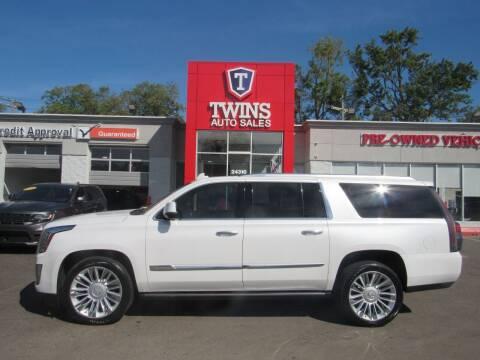 2016 Cadillac Escalade ESV for sale at Twins Auto Sales Inc in Detroit MI