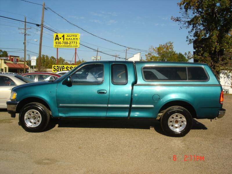 1997 Ford F-150 for sale at A-1 Auto Sales in Conroe TX