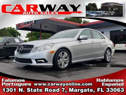 2011 Mercedes-Benz E-Class for sale at CARWAY Auto Sales in Margate FL