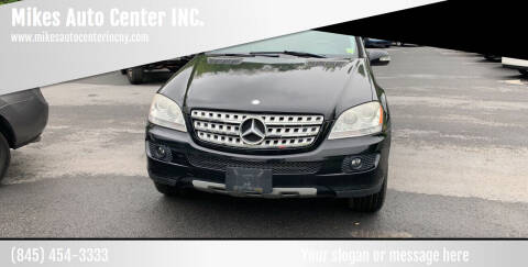 2008 Mercedes-Benz M-Class for sale at Mikes Auto Center INC. in Poughkeepsie NY