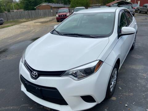 2015 Toyota Corolla for sale at Sartins Auto Sales in Dyersburg TN
