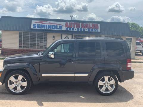 2011 Jeep Liberty for sale at Seminole Auto Sales in Seminole OK