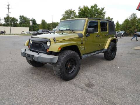 2007 Jeep Wrangler Unlimited for sale at Cruisin' Auto Sales in Madison IN