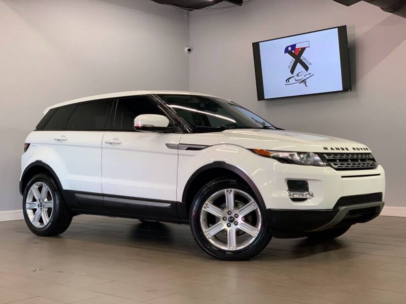 2013 Land Rover Range Rover Evoque for sale at TX Auto Group in Houston TX