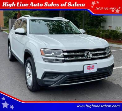 2018 Volkswagen Atlas for sale at High Line Auto Sales of Salem in Salem NH