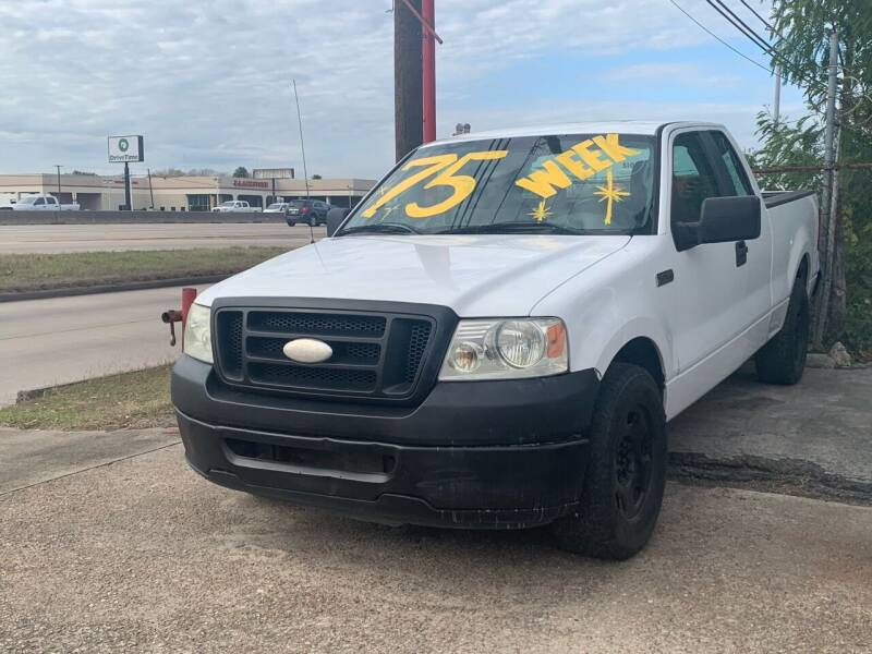 2008 Ford F-150 for sale at FREDY CARS FOR LESS in Houston TX