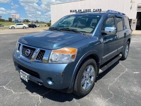 2011 Nissan Armada for sale at MARLER USED CARS in Gainesville TX