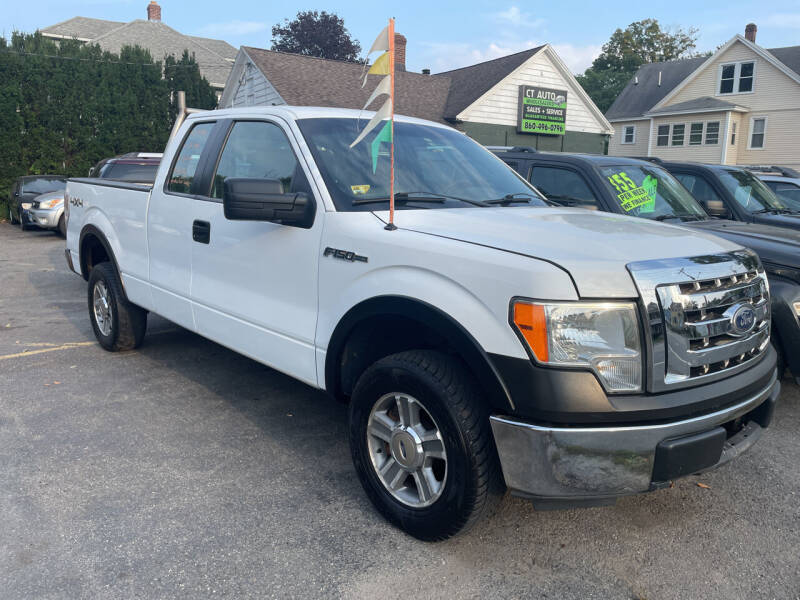 2010 Ford F-150 for sale at Connecticut Auto Wholesalers in Torrington CT