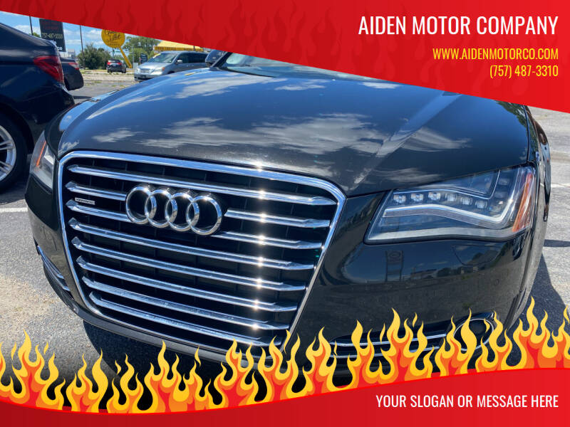 2011 Audi A8 for sale at Aiden Motor Company in Portsmouth VA