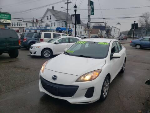 2013 Mazda MAZDA3 for sale at TC Auto Repair and Sales Inc in Abington MA