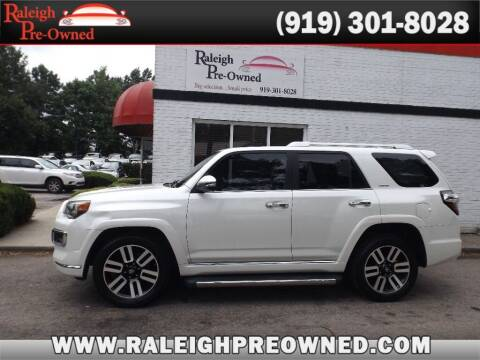 2015 Toyota 4Runner for sale at Raleigh Pre-Owned in Raleigh NC