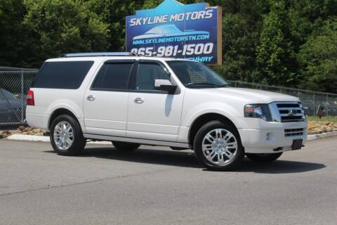 2012 Ford Expedition EL for sale at Skyline Motors in Louisville TN