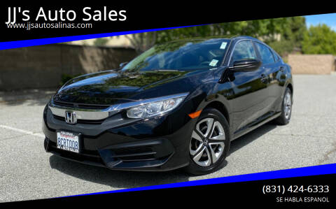 2018 Honda Civic for sale at JJ's Auto Sales in Salinas CA