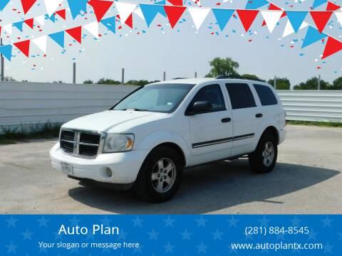 2007 Dodge Durango for sale at Auto Plan in La Porte TX