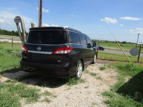 2011 Nissan Quest for sale at Hill Top Sales in Brenham TX