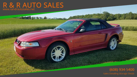 2000 Ford Mustang for sale at R & R AUTO SALES in Juda WI