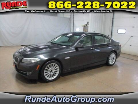 2012 BMW 5 Series for sale at Runde Chevrolet in East Dubuque IL