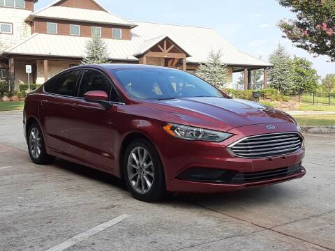 2017 Ford Fusion for sale at Red Rock Auto LLC in Oklahoma City OK