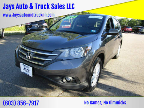 2013 Honda CR-V for sale at Jays Auto & Truck Sales LLC in Loudon NH