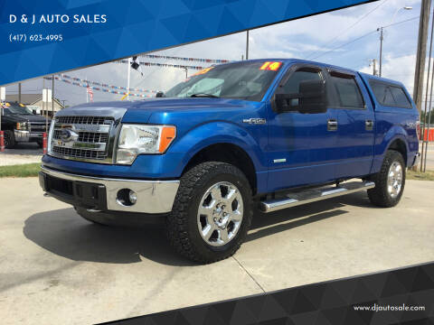 2014 Ford F-150 for sale at D & J AUTO SALES in Joplin MO