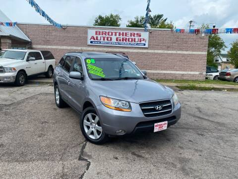 2008 Hyundai Santa Fe for sale at Brothers Auto Group in Youngstown OH