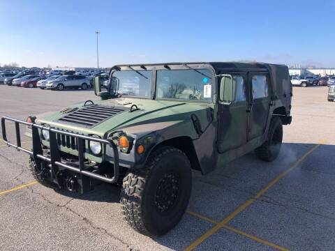 1986 HUMMER HUMVEE for sale at Davidson Auto Deals in Syracuse IN
