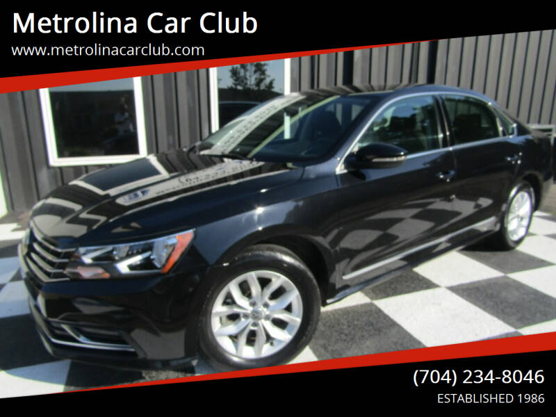 2017 Volkswagen Passat for sale at Metrolina Car Club in Matthews NC