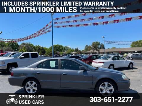 2003 Acura TL for sale at Sprinkler Used Cars in Longmont CO