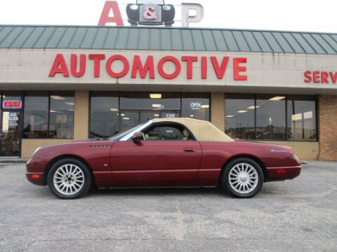 2004 Ford Thunderbird for sale at A & P Automotive in Montgomery AL