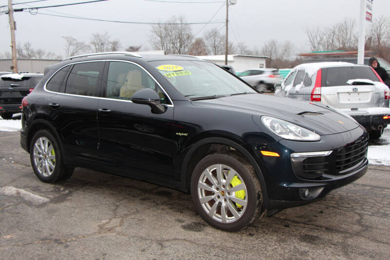 2017 Porsche Cayenne for sale at MetroWest Auto Sales in Worcester MA
