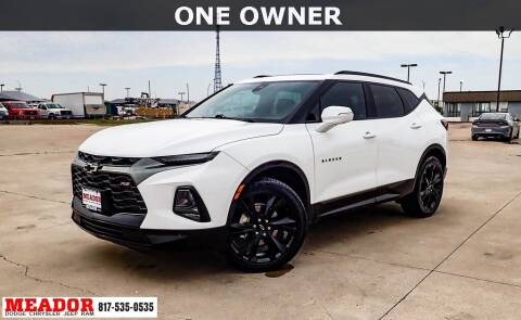 2019 Chevrolet Blazer for sale at Meador Dodge Chrysler Jeep RAM in Fort Worth TX