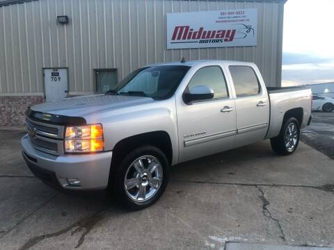2012 Chevrolet Silverado 1500 for sale at Midway Motors in Conway AR