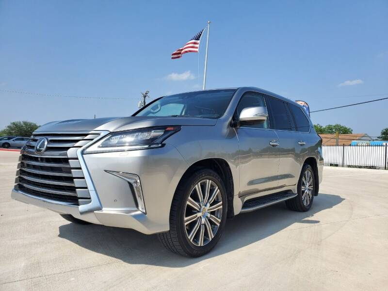 2017 Lexus LX 570 for sale at Italy Auto Sales in Dallas TX