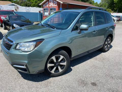 2017 Subaru Forester for sale at CHECK  AUTO INC. in Tampa FL