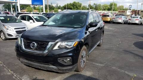 2017 Nissan Pathfinder for sale at Nonstop Motors in Indianapolis IN