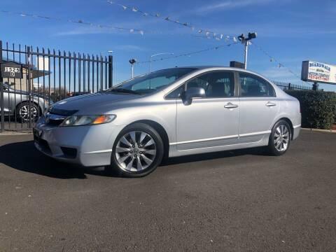 2010 Honda Civic for sale at BOARDWALK MOTOR COMPANY in Fairfield CA