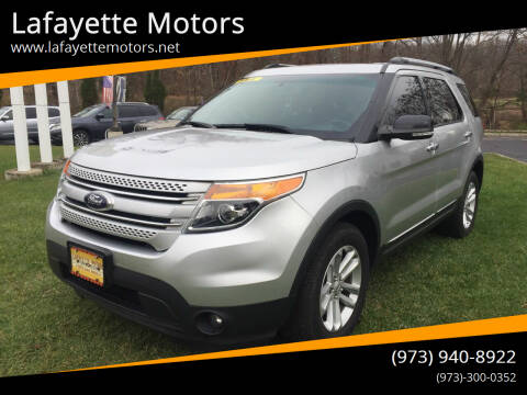 2014 Ford Explorer for sale at Lafayette Motors 2 in Andover NJ