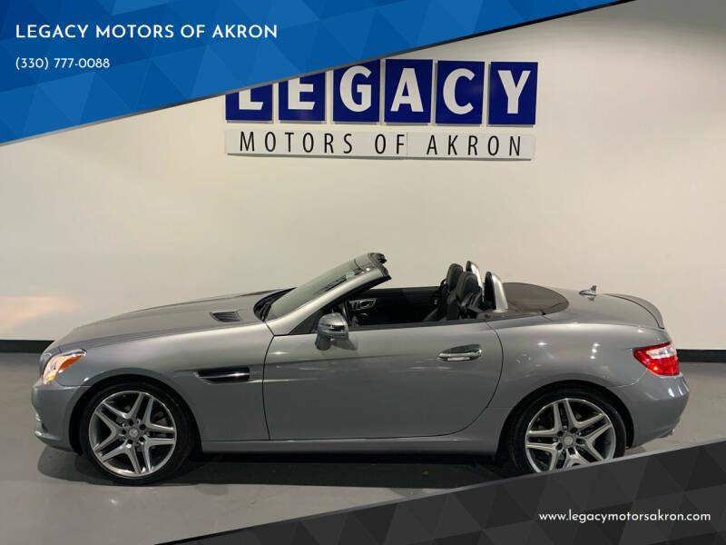 2014 Mercedes-Benz SLK for sale in Akron, OH
