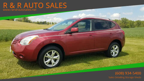 2009 Nissan Rogue for sale at R & R AUTO SALES in Juda WI