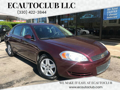 2007 Chevrolet Impala for sale at ECAUTOCLUB LLC in Kent OH