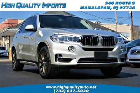 2015 BMW X5 for sale at High Quality Imports in Manalapan NJ