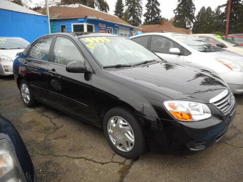 2007 Kia Spectra for sale at Lino's Autos Inc in Vancouver WA