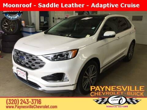 2019 Ford Edge for sale at Paynesville Chevrolet Buick in Paynesville MN