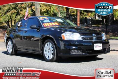 2014 Dodge Avenger for sale at Warner Motors in East Orange NJ