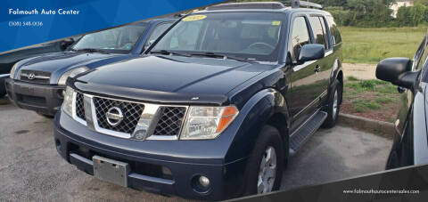 2007 Nissan Pathfinder for sale at Falmouth Auto Center in East Falmouth MA