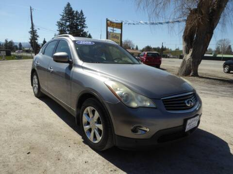 2008 Infiniti EX35 for sale at VALLEY MOTORS in Kalispell MT