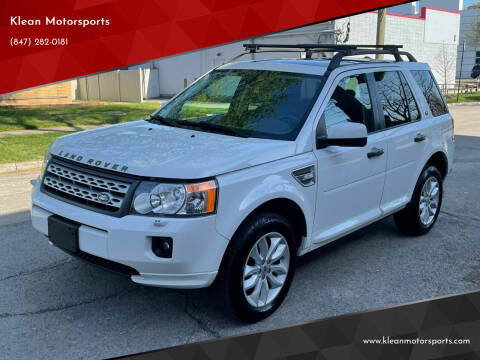 2012 Land Rover LR2 for sale at Klean Motorsports in Skokie IL