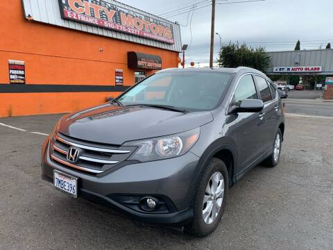 2014 Honda CR-V for sale at City Motors in Hayward CA